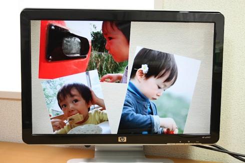 パソコン内に保存しっぱなしの写真をスライドショーで見る方法