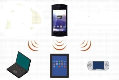 スマートフォンで、ノートPCも携帯ゲームもネットに接続できる「テザリング」機能とは?