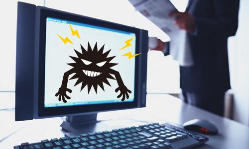 パソコンの調子がおかしい・・・ウイルス感染を疑うべき症状とは?