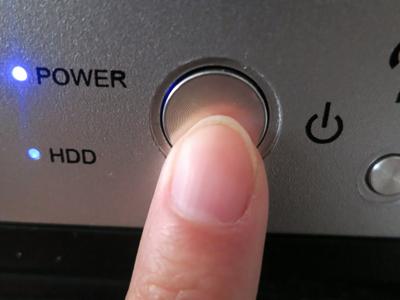 電源ボタンでパソコンをシャットダウンさせる方法