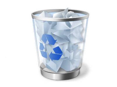 「ごみ箱」の容量を調整して、ハードディスクの空き容量を増やす