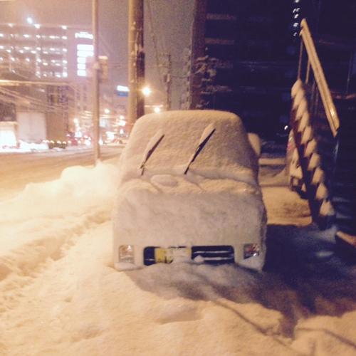 【画像あり】iPhoneの標準カメラで、雪景色を表現豊かに撮るコツ