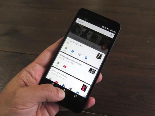 Android6.0の新機能「Now on Tap」がすごい!もうブラウザを開いて検索することはない・・・!