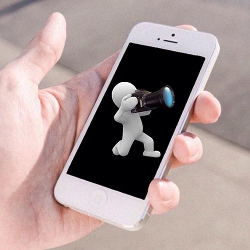 iPhoneでスクリーンショットをシャッター音ナシで撮れるちょいワザ