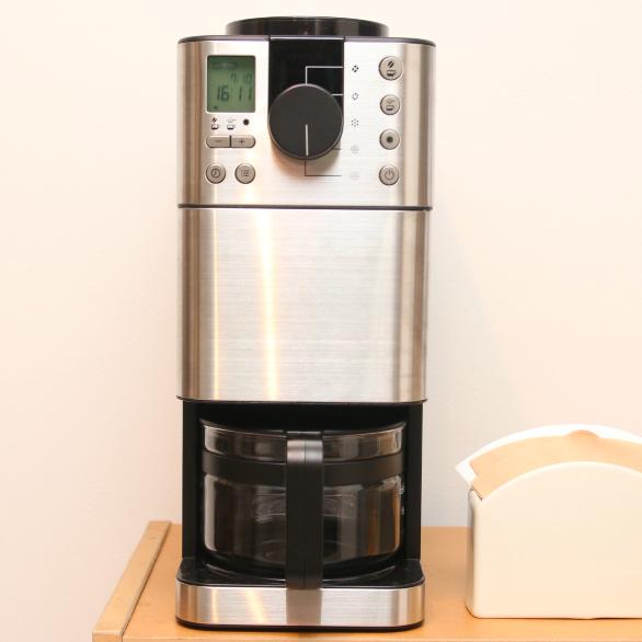 買ってわかった「豆から挽けるコーヒーメーカー(無印良品)」のメリットとデメリット