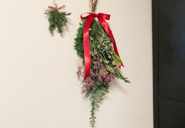 クリスマスは、リースでなく「スワッグ」を作りませんか?