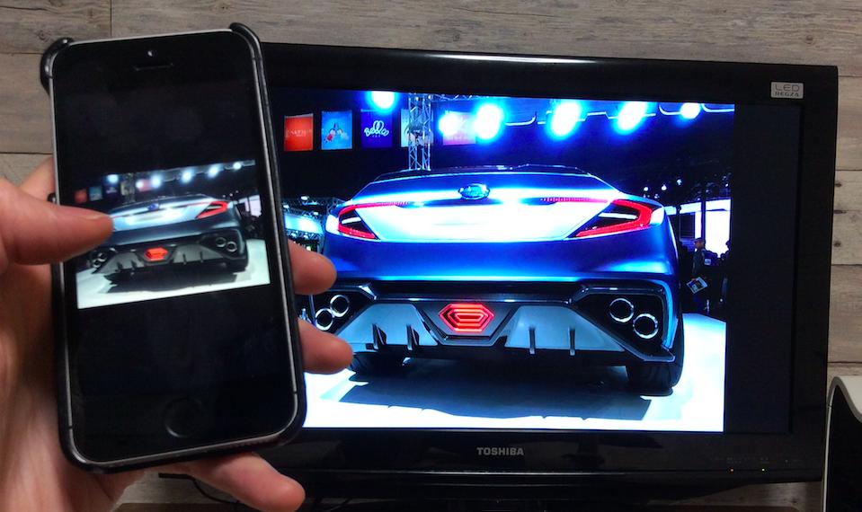Fire TV Stickを使って、iPhoneの画面をワイヤレスでテレビに映してみた