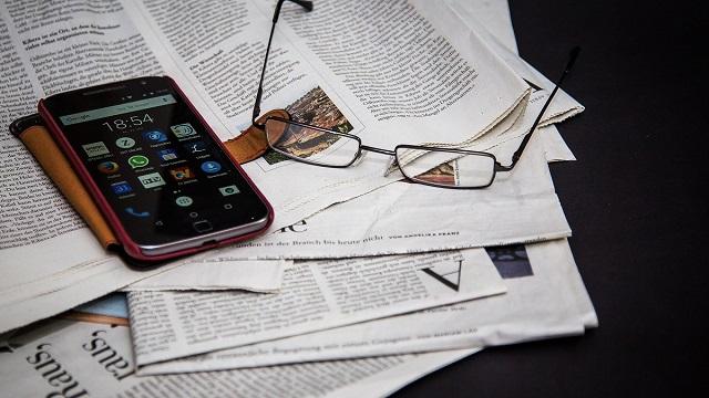 新聞をデジタルで見る