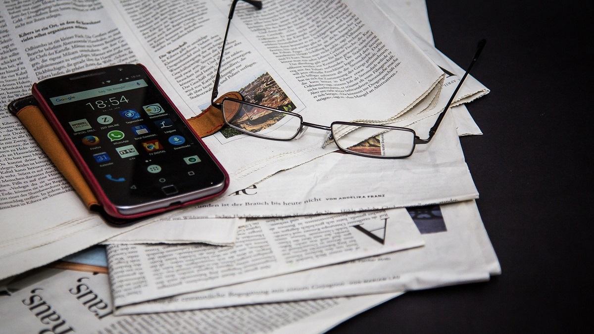 デジタル新聞を読む