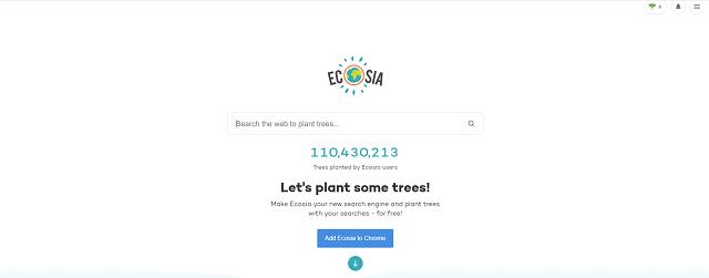 検索するだけで植樹ができる検索エンジン「ECOSIA」ってなに?