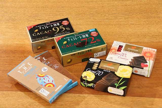 脳が活性化する?注目の高カカオチョコレート6種類を食べ比べてみた
